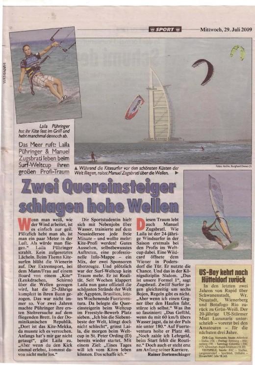 Kronen Zeitung - Sport