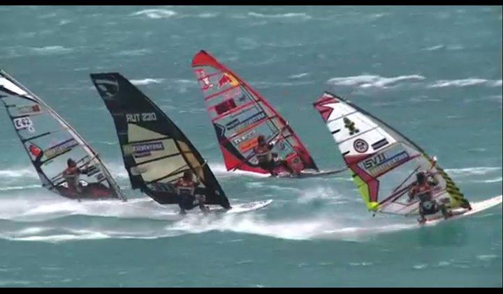 High Wind surfing in Fuerte